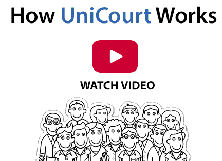 How UniCourt Works Video